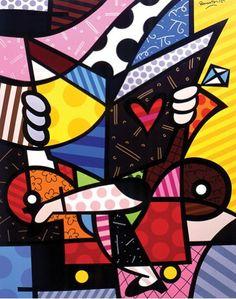 Romero Britto Pop Art 1