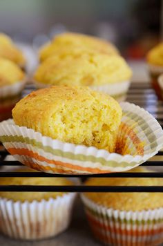 Sweet Corn Bread Muffins