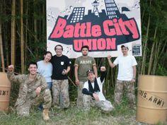 Evento em setembro de 2010 em Chiba, Japão. Field Battle City Union