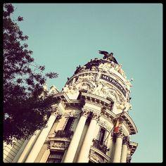 Edificio Metropolis #Madrid http://instagram.com/p/b2ypatJ3GM/