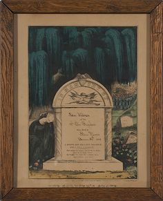 Hand-Colored Currier & Ives Soldiers Memorial for John Wilson, 18th OVI, - Cowan's Auctions