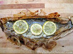 Whole Trout with Spicy Honey Plum Chutney   How To Cook Fish If You Hate Cooking
