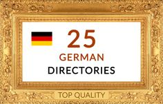do manually 25 German directory submissions backlinks seo deut... by seotooly_com
