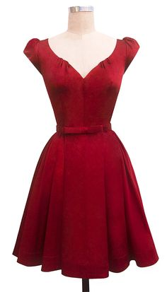 Trashy Diva Liz Dress - 1950s Inspired Party Dress
