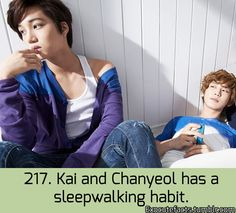 Exo Facts. Sleep teleporting and sleep fire conjuring not good! Not good at all! TeeHee:)