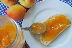 Peach curd!