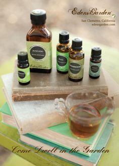 What essentials oils are good for you! www.edensgarden.com