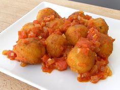 Albóndigas de calabacín con salsa en Recetario de cocina no te lo puedes perder!! Pincha en este enlace o en la foto para ver la publicación completa ahora!!