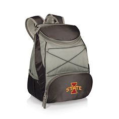 Picnic Time Iowa State Cyclones PTX Backpack Cooler, Black