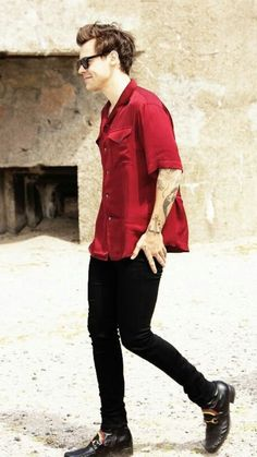The red shirt