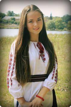 Ukraine Women, Ukraine Girls, Folk Fashion, Ethnic Fashion, Supergirl, Eslava, Romanian Girls, Ukrainian Dress, Costumes Around The World