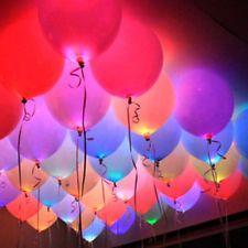 Home Arts & Crafts Provided Set Of 9 Handmade Glass Balloons Balloon Lights Christmas Decoration Wedding