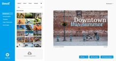 A nice alternative to Canva, Stencil is simple image creation product for social media marketers, bloggers and small businesses.