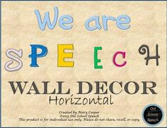 We Are Speech Wall Decor