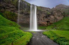 Seljalandsfoss Waterfall - null Waterfall, Landscapes, Outdoor, Paisajes, Outdoors, Waterfalls, Scenery, Outdoor Games, Rain