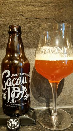 Stone Bodebrown Cacau IPA. Watch the video beer review here www.youtube.com/realaleguide   #CraftBeer #RealAle #Ale #Beer #BeerPorn #StoneCacauIPA #BodebrownCacauIPA #CacauIPA #Cacau #IPA #BodeBrown #StoneBrewingCompany #StoneBrewing #Stone #BrazilainCraftBeer #BrazilianBeer