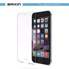 Nett Marke Telefon Screen Protector Glas Für Iphone 8 7 6 6 S Plus X Xs Max Xr Schutz Gehärtetem Glas Für Iphone 5 5 S Se 4 4 S Glas Handybildschirm-schutz