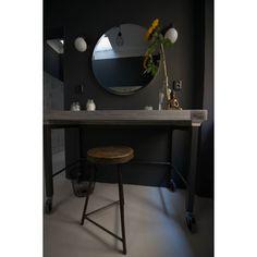 Shop powered by PrestaShop Industrial Design, Mirror, Bathroom, Projects, Furniture, Home Decor, Washroom, Log Projects, Blue Prints