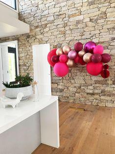 Berry Nice Pink, Burgundy Balloon Garland 2m BG22 – Party Love Australia Balloon Shop, Red Balloon, Balloon Bouquet, Balloon Garland, Balloon Decorations, Birthday Decorations, Large Balloons, Number Balloons, Tassel Garland
