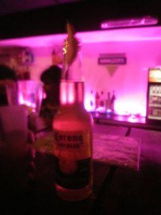 corona beer with lemon yeah!