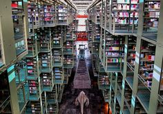 Jose Vasconcelos Library, next time I'm in Mexico City.