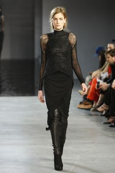 Helmut Lang clothing inspired by the Game of Thrones series. Drama, drama, drama...