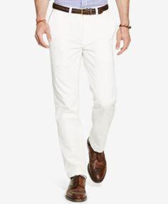 POLO RALPH LAUREN Polo Ralph Lauren Men's Classic-Fit Flat-Front Chino Pants. #poloralphlauren #cloth # pants