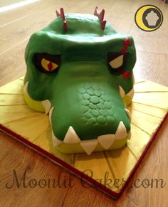 Lego Chima character made for my friend's grandson made out of chocolate sponge & ganache filling. Thanks for looking :0)