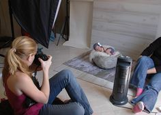 Behind The Scenes… Pullbacks Of My Newborn Photography