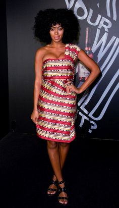 Solange Knowles: Look of the Day - theFashionSpot