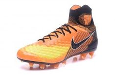 f3e7cd2b990e Fashionable Nike Magista Obra II FG Orange Black Men s Football Shoes Nike  Soccer Shoes