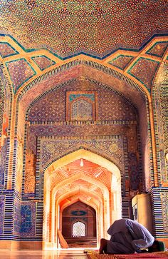 "uncommonjones: "" Living on a Prayer by Fasih Ahmed Shah Jahan Mosque, Thatta, Pakistan "" Pakistan Reisen, Pakistan Travel, Pakistan Zindabad, Mosque Architecture, Art And Architecture, Islamic World, Islamic Art, Beautiful Mosques, Beautiful Places"