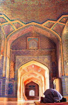 Prayer. Thatta, Sindh, Pakistan