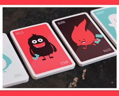 Trio Card Game by Hype & Slippers , via Behance