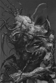 Spawn of Chaos from the 'Beastmen' ...