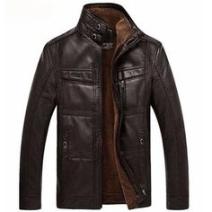 Motorcycle Business Leather Jackets - MENSWEAR