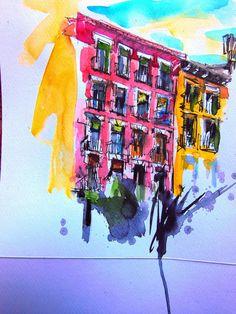 Spain Urban Sketchers