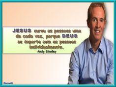 JESUS CUROU AS PESSOAS UMA DE CADA VEZ