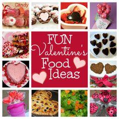 Fun Valentine's Day food ideas for kids! via @Sara Eriksson Eriksson Eriksson Eriksson Eriksson W