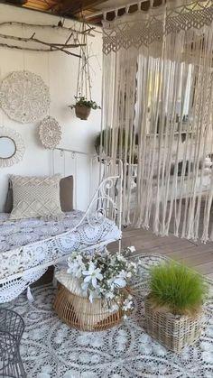 Home Room Design, Master Bedroom Design, Home Interior Design, Small Balcony Decor, Balcony Ideas, Outdoor Balcony, Modern Balcony, Patio Ideas, Aztec Home Decor