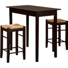 Found it at AllModern - Russell 3 Piece Counter Height Dining Set