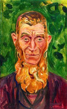 Original Man Edvard Munch - 1905