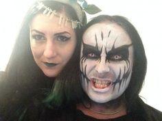 Cradle Of Filth Black Metal, Heavy Metal, Dani Filth, Cradle Of Filth, Alternative Music, Metalhead, Halloween Face Makeup, Icons, Paint