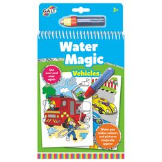 BuyGalt Water Magic Vehicles Colouring Online at johnlewis.com