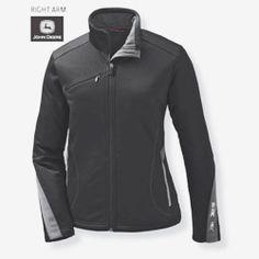 John Deere Ladies Softshell Jacket