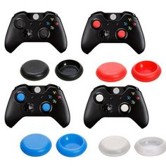 Xhorizon Tm 16-Pack Zy Thumb Grips Analog Stick Cap Covers For Xbox One Controller, 2015 Amazon Top Rated Thumb Grips #VideoGames