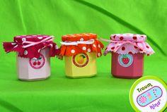 3 Marmeladengläser aus Buche Holz Kaufladen von Dein-Traum-Kaufladen auf DaWanda.com