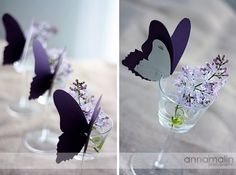 .Love the butterflies just needs to be blue or green
