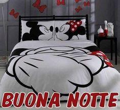 Buonanotte immagine #2099 - Buona Notte - Mickey Mouse, Minnie Mouse, Topolino. Immagine per Facebook, WhatsApp, Twitter e Pinterest.