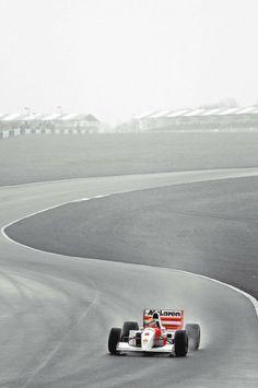 Ayrton Senna | McLaren Honda 1993 | Donington Park:
